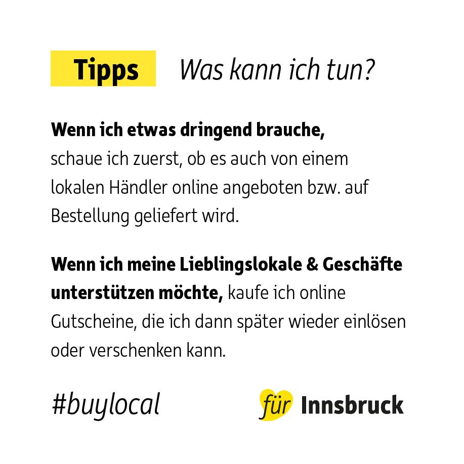 Tipps buylocal anzeigen