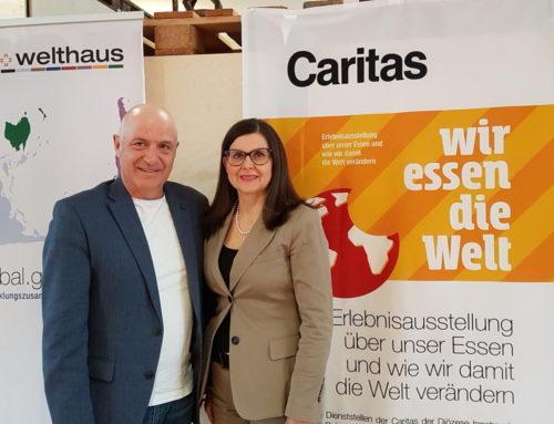 Wir essen die Welt – Caritas Sonderausstellung in Stadtbibliothek