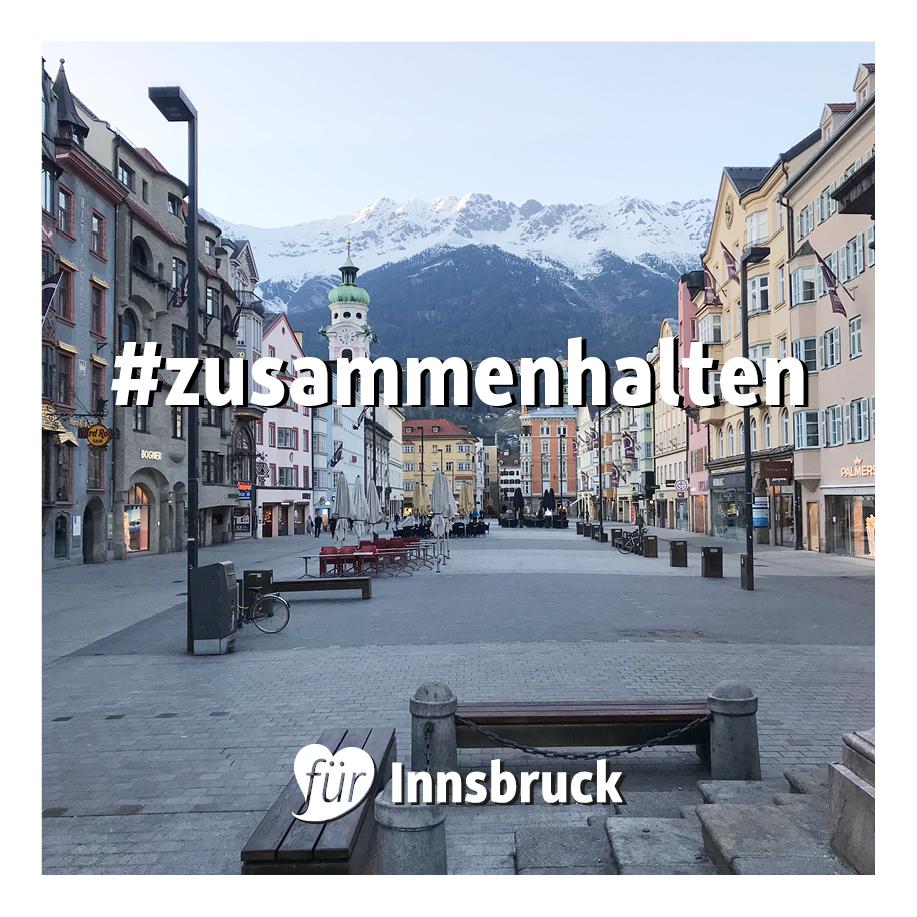 Bild Innsbrucker Altstadt #zusammenhalten für Innsbruck anzeigen