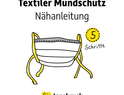 Textiler Mundschutz: 5-Schritte-Nähanleitung