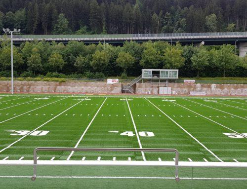 Ein Meilenstein in der Innsbrucker Sportgeschichte – Footballzentrum vor Übergabe