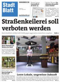 Stadtblatt Innsbruck, 19./20. August