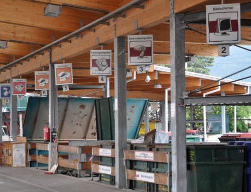 Mobiler Recyclinghof beantragt