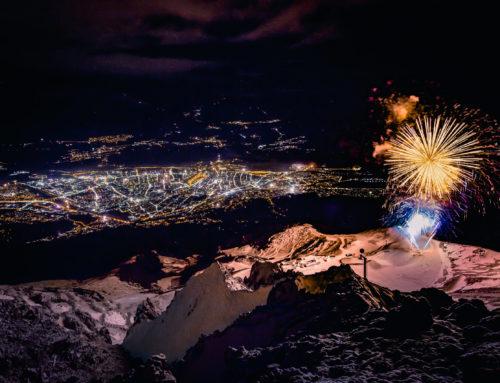 Für Innsbruck für Silvester-Feuerwerk auf Seegrube: Mit Abstand und Zuversicht insneue Jahr!