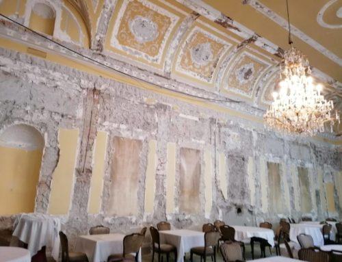 Hotel Europa: Unwiederbringlicher Schaden Abbruch des historischen Barocksaales verstört