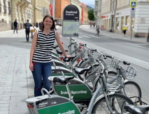 Gute Luft für Innsbruck – Mit Gratis Stadtradverleih an ausgewählten Tagen Bewusstsein und Anreize schaffen